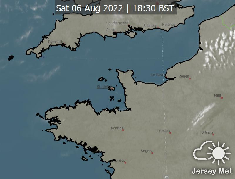 Latest satellite image
