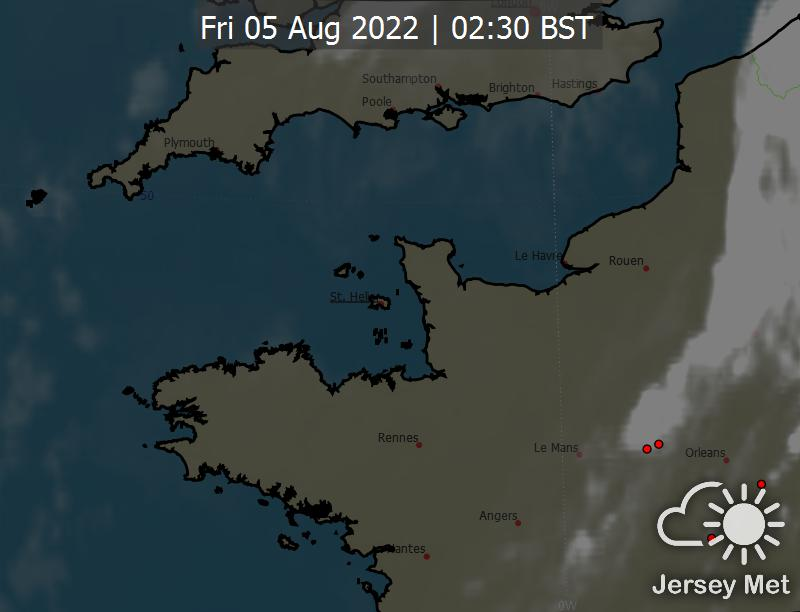 Channel Islands Weather Satellite Images - Latest satellite photos